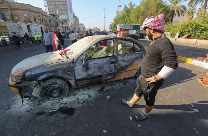 قتيل بتفجير استهدف سيارة لشركة متعاقدة مع التحالف بالعراق