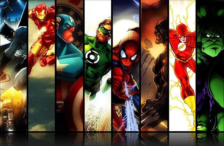 هل تستطيع التفريق بس شخصيات Marvel و DC السينمائية؟
