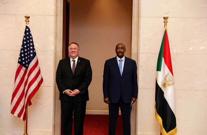 أنباء عن فشل جولة مفاوضات حول تطبيع السودان مع الاحتلال