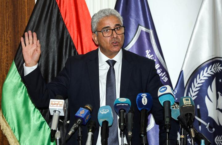 نجاة وزير الداخلية الليبي باشاغا من استهداف موكبه بطرابلس