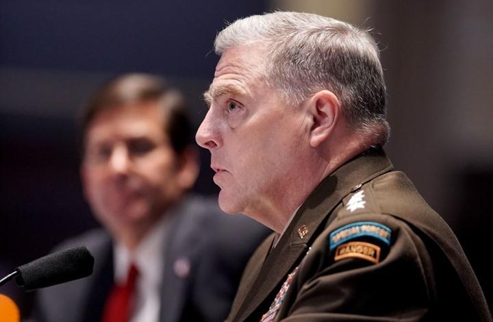الجيش الأمريكي: لن نتدخل في النزاعات الانتخابية