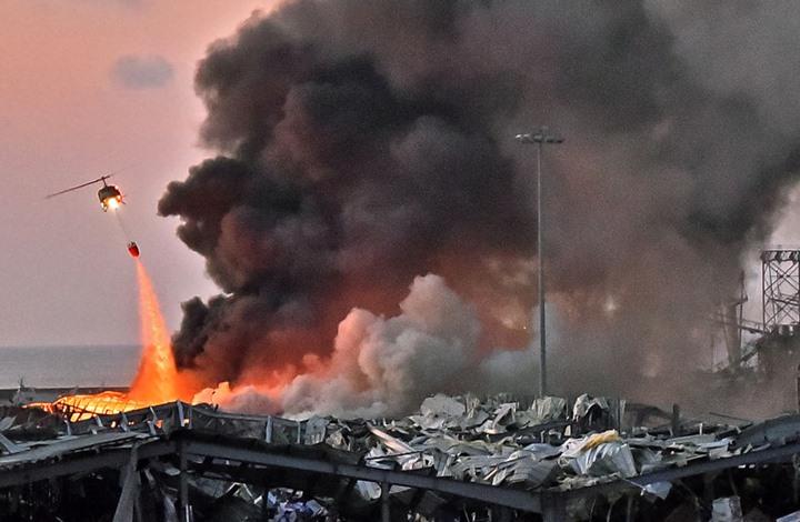 "مشهد قديم من ""سمبسون"" يحاكي انفجار بيروت (شاهد)"