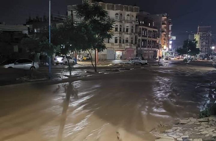 مقتل 14 يمنيا في سيول في صنعاء (شاهد)