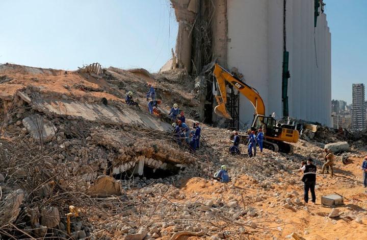 أكثر من 60 مفقودا بانفجار بيروت.. وزوجة سفير بين القتلى