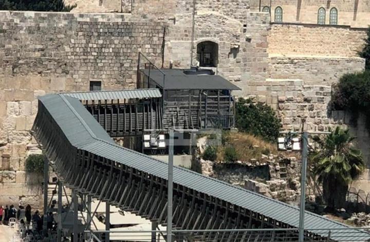 الاحتلال يصدر مناقصة سرية لإعادة بناء جسر باب المغاربة