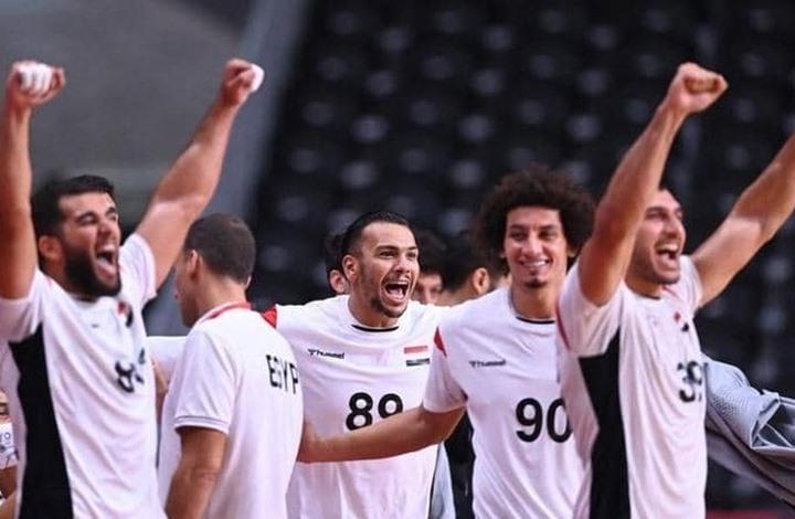 إنجاز تاريخي لكرة اليد المصرية بأولمبياد طوكيو