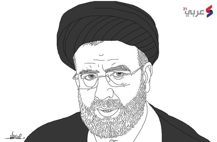 """رئيسي.. تحت عباءة خامنئي في قصر """"سعد آباد"""" (بورتريه)"""