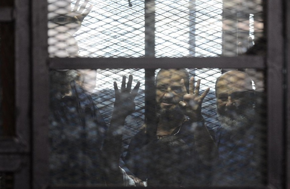 """جلسة عاصفة لـ""""اعتصام رابعة"""" والبلتاجي يطلب مثول السيسي"""