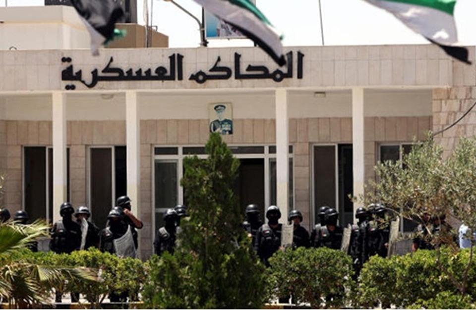 """احتجاج لاعتقال صحفي أردني نشر مخطط """"فيلق القدس"""""""