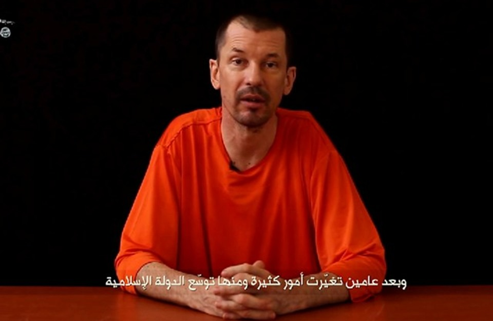 إندبندنت: الصحافي لدى تنظيم الدولة جون كانتلي حي يرزق