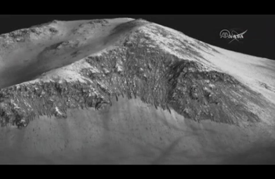"""""""ناسا"""" تُعلن اكتشاف """"مياه مالحة"""" على سطح المريخ"""