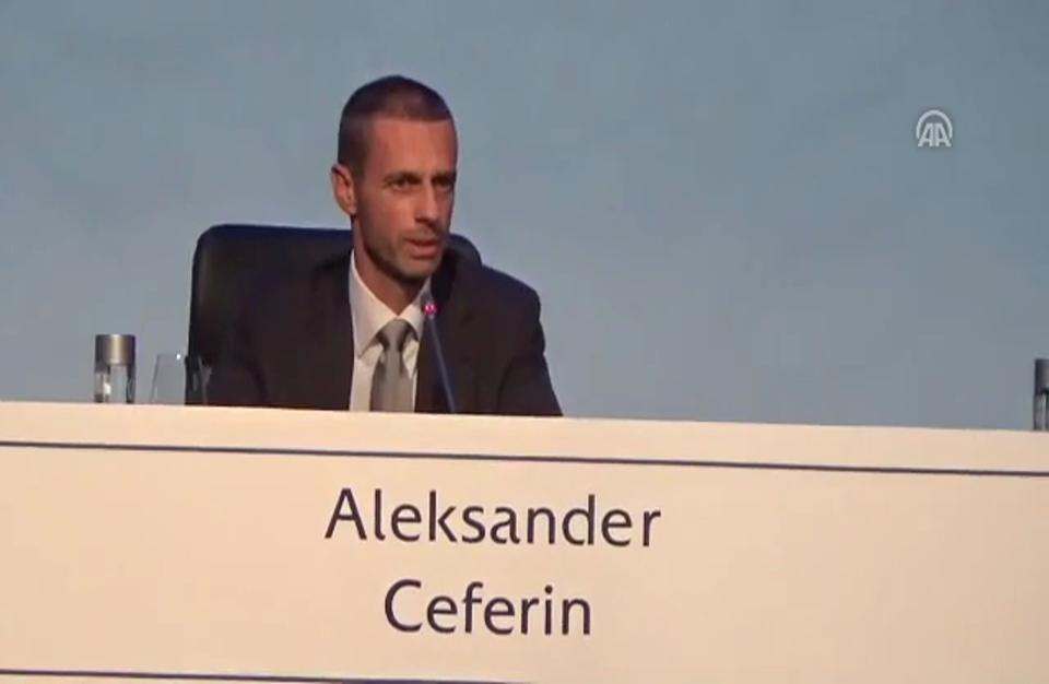 انتخاب السلوفيني سيفيرين رئيسا جديدا لاتحاد كرة القدم الأوروبي