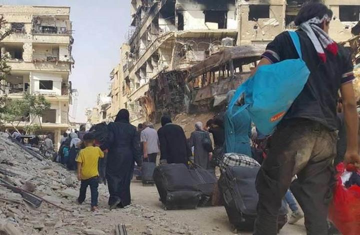 """ناشطون يطلقون حملة """"لا للتهجير القسري"""" في سوريا"""