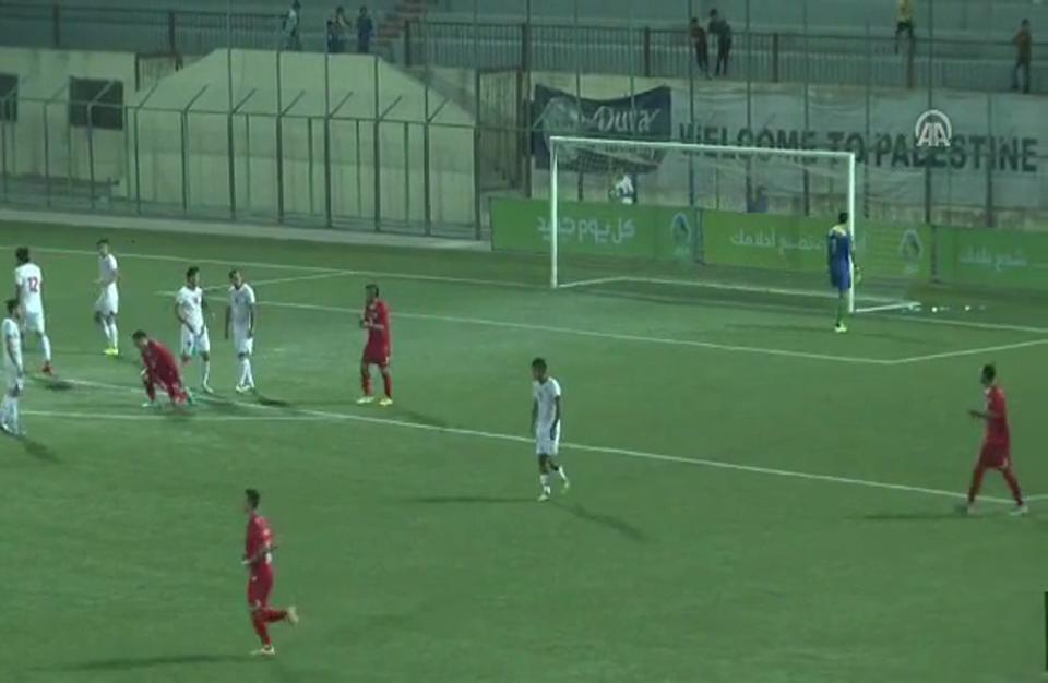 فلسطين تتعادل مع طاجيكستان وديا استعدادا لتصفيات كأس آسيا 2019