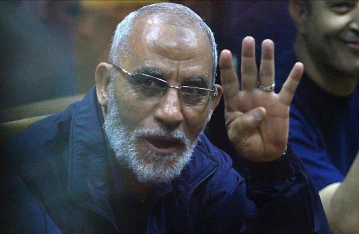 حكم نهائي جديد بالسجن المؤبد بحق مرشد إخوان مصر