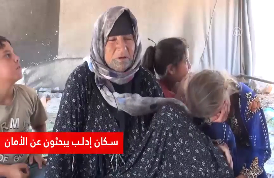 سكان إدلب في رحلتهم للبحث عن الأمان