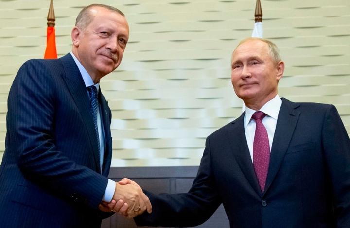 بوتين وأردوغان يعلنان إنشاء منطقة منزوعة السلاح بإدلب