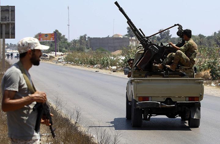 """معارك طاحنة بين قوات """"حفتر والوفاق"""" جنوب وغرب طرابلس"""
