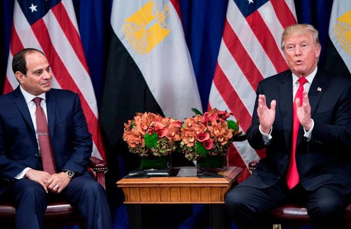 """ترامب يناقش أزمة ليبيا مع السيسي.. هل تجاهل """"السراج""""؟"""