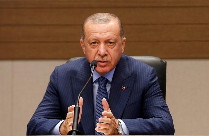 أردوغان يتناول العلاقات مع مصر واليونان واستقالة السراج