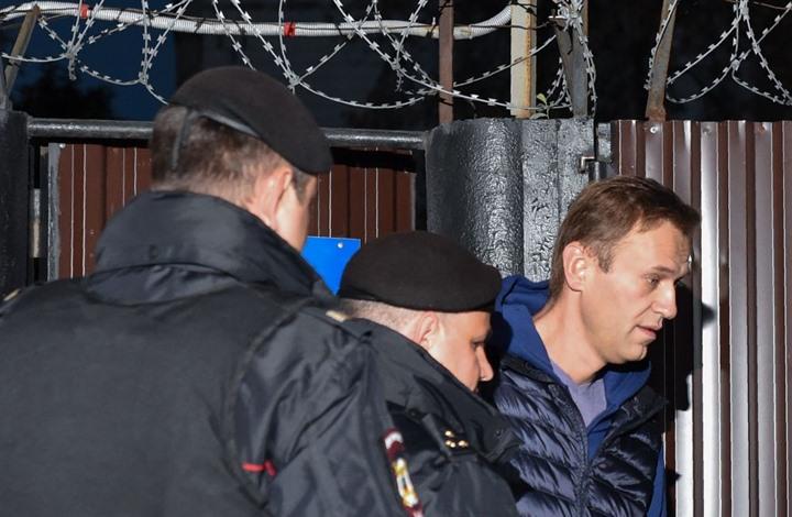 السلطات الروسية تطلق سراح المعارض أليكسي نافالني