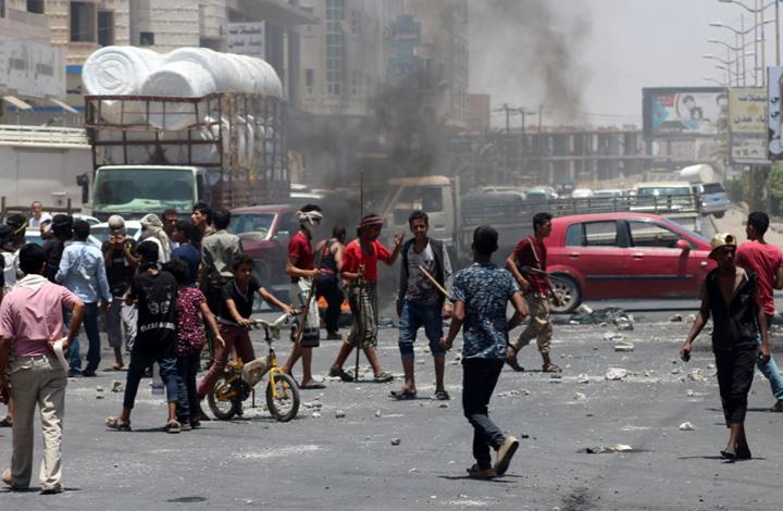 احتجاجات في عدن رفضا للانفصاليين وانهيار الخدمات