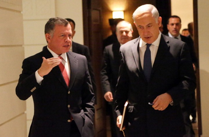 مسؤول إسرائيلي: إعلان ضم الأغوار أصبع بعين ملك الأردن