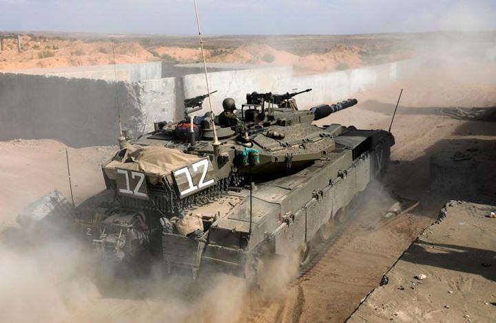 3 دبابات إسرائيلية تخترق الخط الأزرق جنوب لبنان