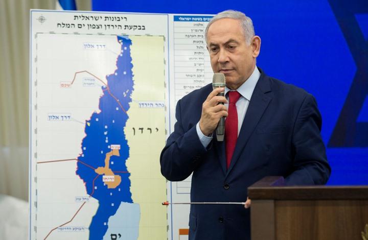 """نتنياهو يتوقع استمرار اتفاقية """"وادي عربة"""" مع الأردن بعد الضم"""