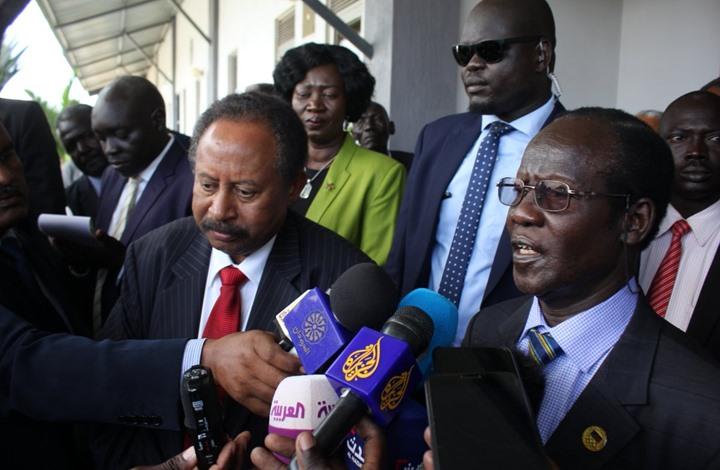 حمدوك يصل جوبا في أول زيارة خارجية له منذ توليه الحكومة