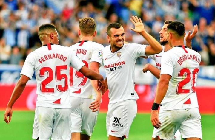 إشبيلية يهزم ألافيس ويتصدر ترتيب الدوري الإسباني (شاهد)