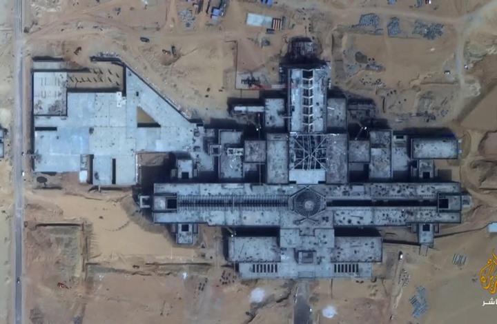 فيديو يكشف ضخامة حجم قصر السيسي في العاصمة الإدارية (شاهد)