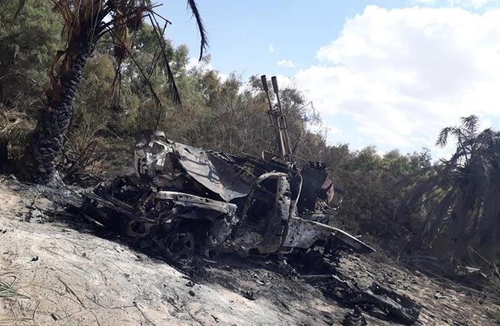 قوات حفتر تجدد الهجمات الجوية على سرت