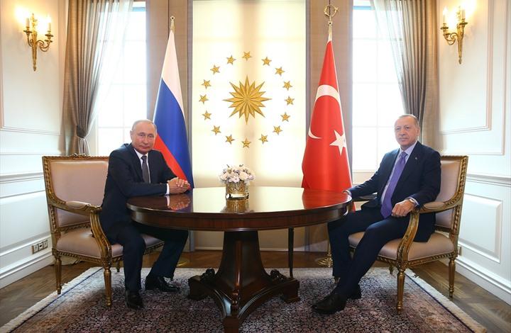 بوتين يصل لأنقرة ويلتقي أردوغان قبيل القمة الثلاثية حول سوريا