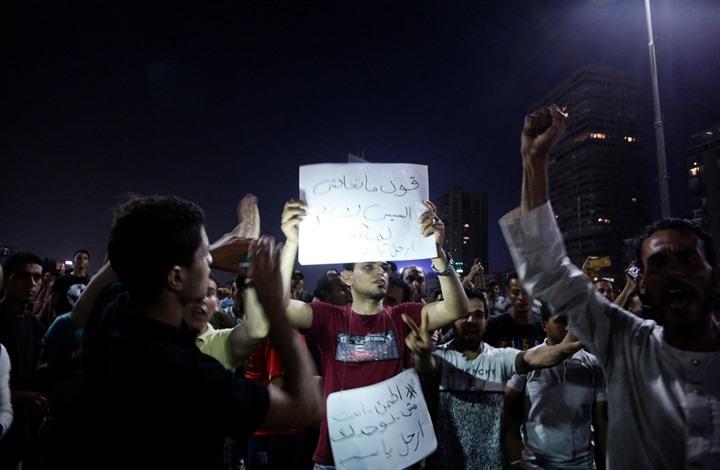 """""""الثورة بدأت"""" يتصدر.. واستمرار المظاهرات ضد السيسي (شاهد)"""