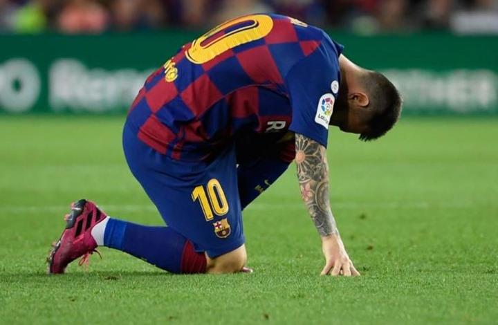 برشلونة يكشف معلومات جديدة عن إصابة ميسي