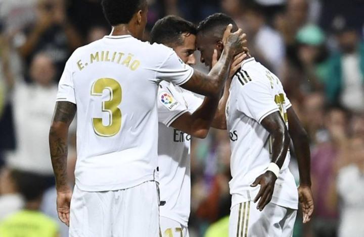 ريال مدريد يفوز بثنائية وينفرد بصدارة الدوري الإسباني (شاهد)