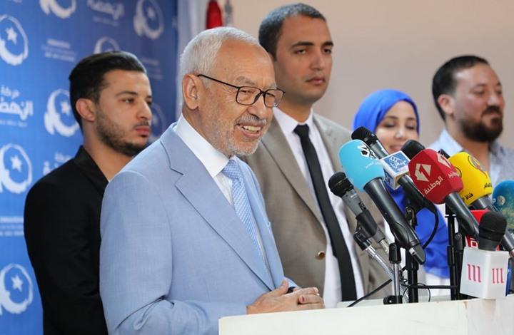 """الغنوشي: هذا ما سيحصل للبرلمان إذا فاز حزب """"قلب تونس"""""""