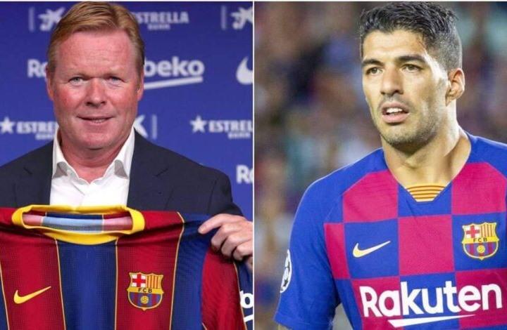 صدمة لسواريز في أول مباراة يقودها المدرب الجديد لبرشلونة