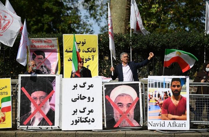 تفجير بوابة محكمة إيرانية حكمت على مصارع بالإعدام (شاهد)