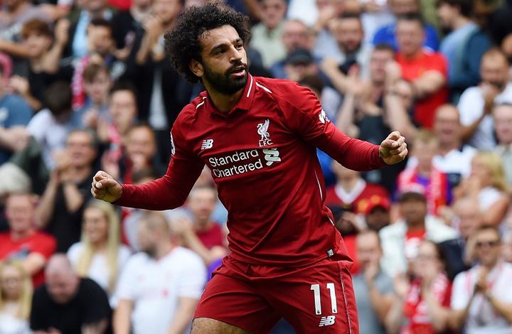 """ليفربول يحتفل بتسجيل صلاح 52 هدفا بملعب """"أنفيلد"""" (شاهد)  """