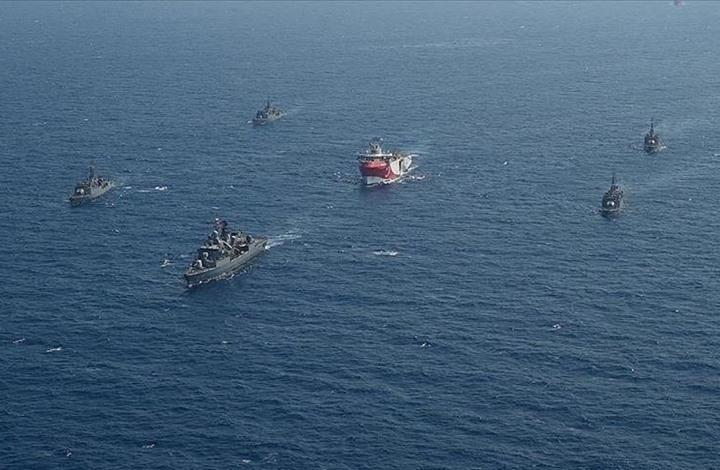 """سفينة تنقيب تركية تعود لمهامها بـ""""المتوسط"""" حتى يونيو المقبل"""