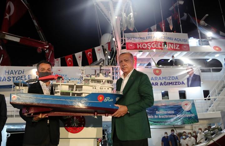 أردوغان: نتطلع لأخبار سارة هذا العام في شرق المتوسط