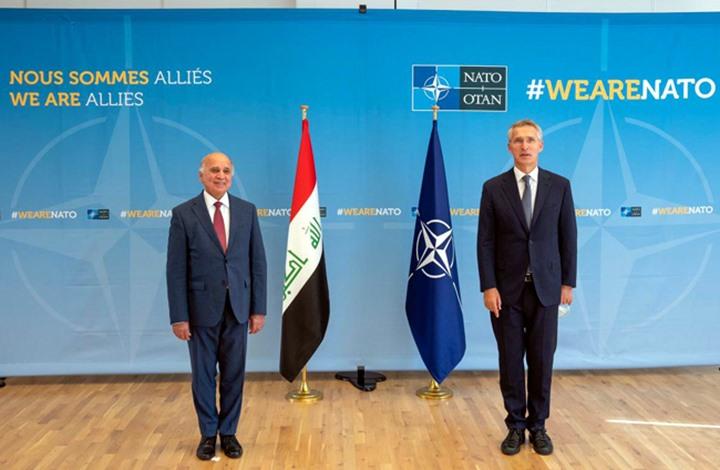 """العراق و""""الناتو"""" يبحثان التعاون الأمني والعسكري"""