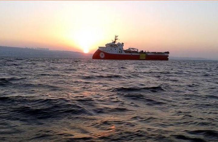 """تركيا تمدد أنشطة """"بارباروس"""" في شرق المتوسط"""