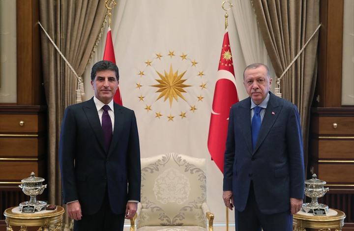 بعد لقاء ماكرون.. ماذا وراء زيارة بارزاني المفاجئة لتركيا؟