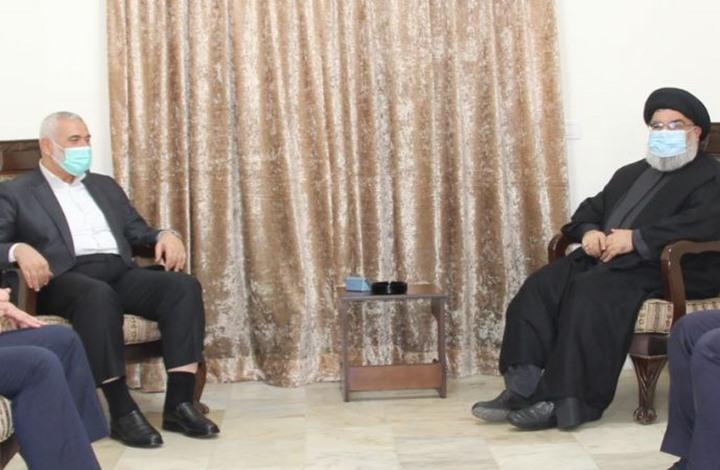 سفير إسرائيلي يهدد: لقاء هنية مع نصر الله لن يمر مرور الكرام