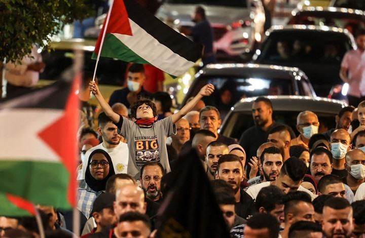 مواجهات وتظاهرات بالضفة والداخل تضامنا مع الأسرى (شاهد)