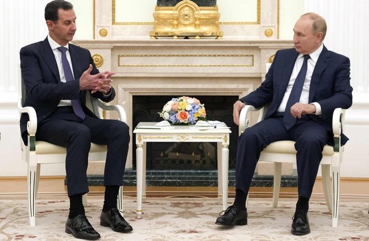بوتين يدخل الحجر الصحي غداة استقباله الأسد بموسكو