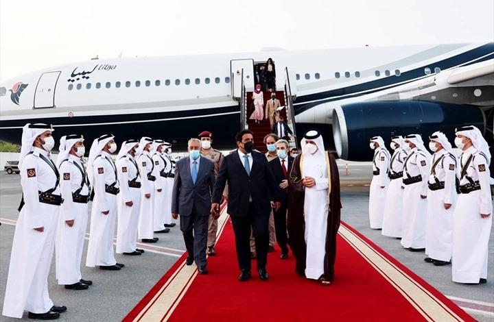 المنفي يبدأ زيارة رسمية لقطر ويلتقي الأمير تميم الأربعاء